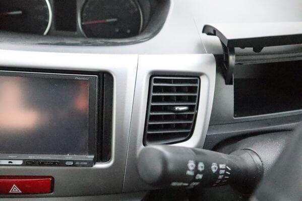 運転席の前のボックス