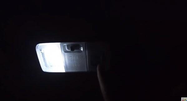 夜間の点灯状態