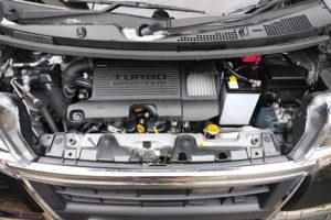 タントカスタムのエンジン