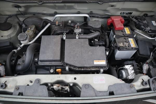 アルトラパンのエンジン